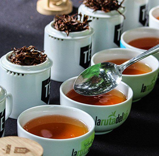 Degustación de tés